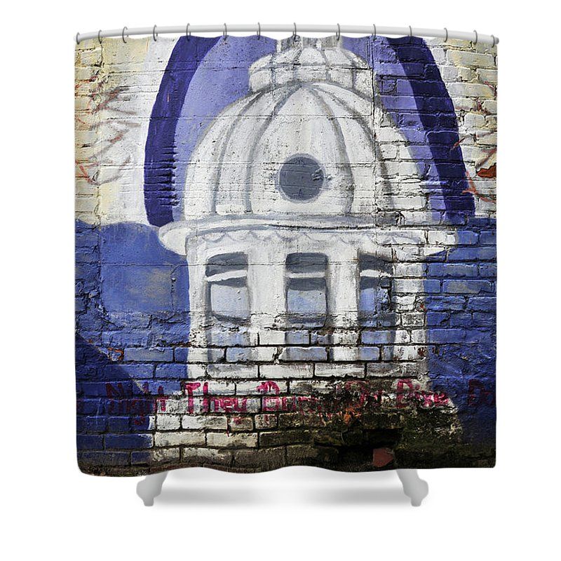 Fine Art Photography Shower Curtain featuring the photograph The Night They Drove Old Dixie Down by David Lee Thompson