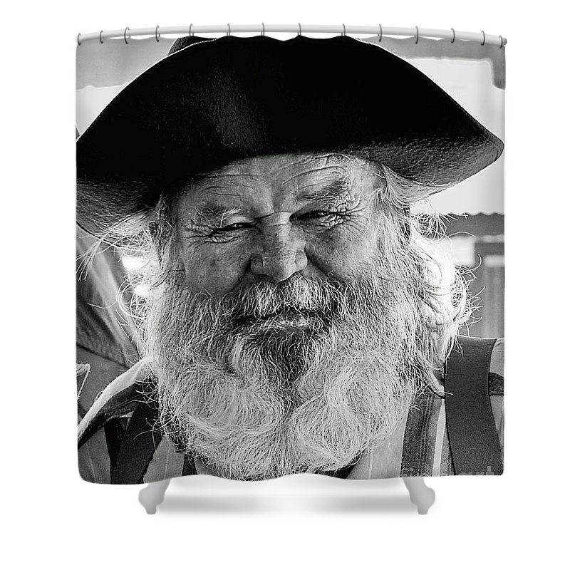 The Old Prospector Of Tomstone Shower Curtain For Sale By Jim
