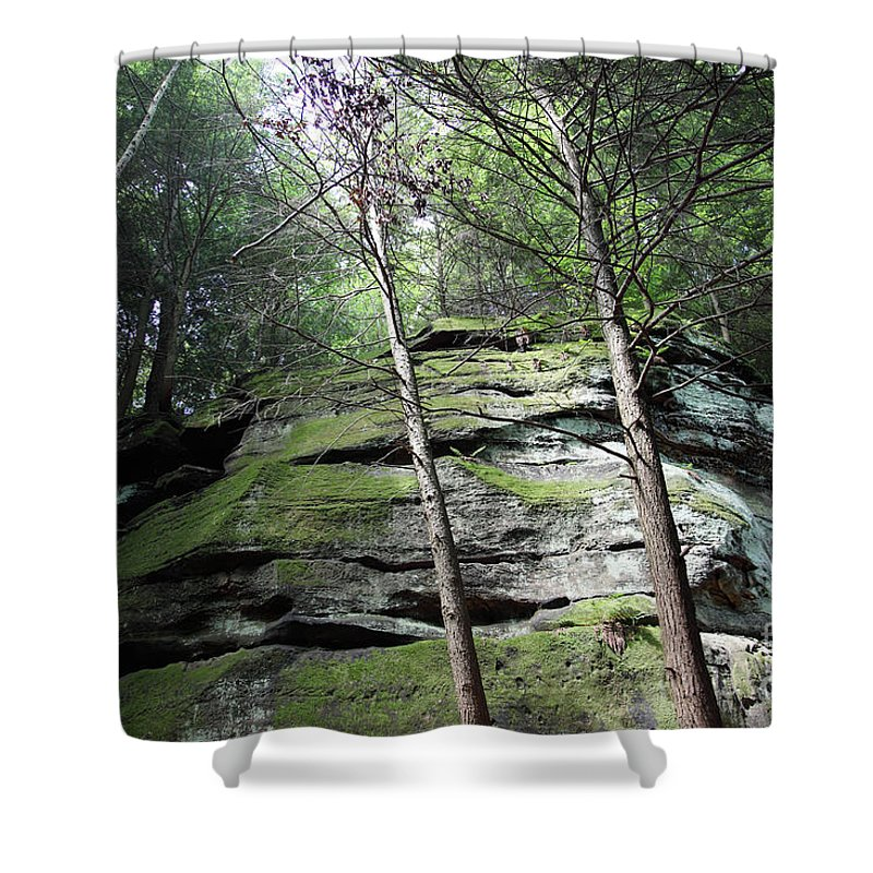 Nature Shower Curtain featuring the photograph The Original My Space by Amanda Barcon