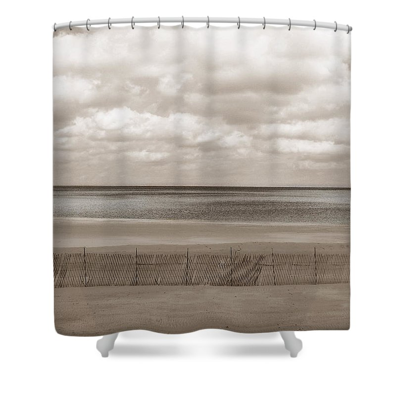 Ocean Shower Curtain featuring the photograph The Perfect Sky Is Torn by Dana DiPasquale