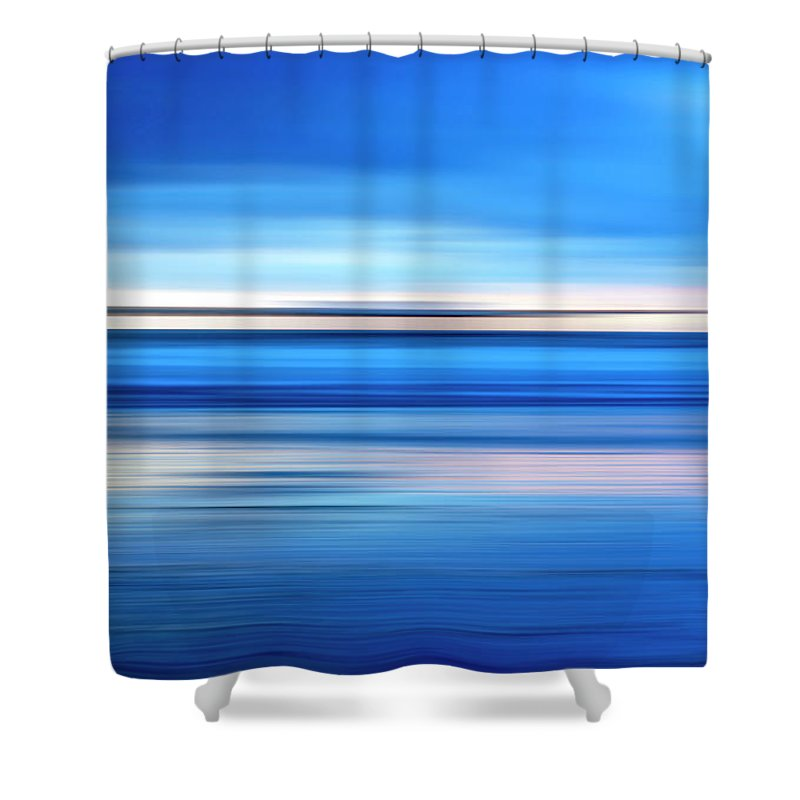 Pier Shower Curtain featuring the photograph The Pier by Joseph S Giacalone