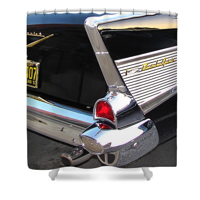 Cars Shower Curtain featuring the photograph The Prince of Bel Air by Gary Adkins