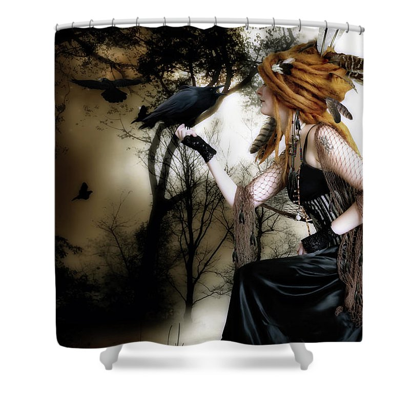 Fantasy Art Shower Curtains