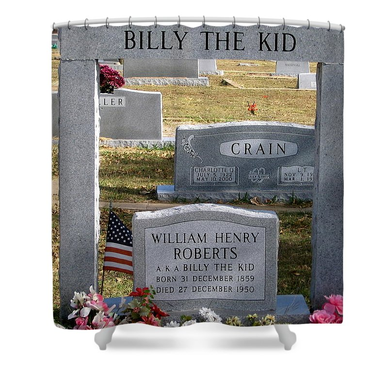 The Real Billy The Kid Shower Curtain
