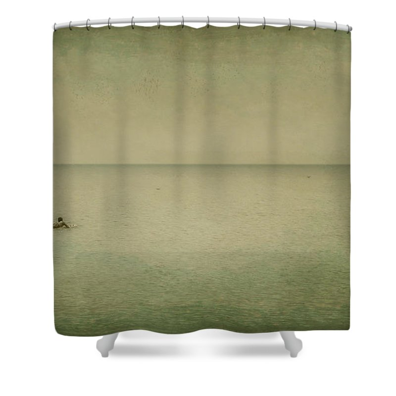 Sea Shower Curtain featuring the photograph The Recesses Of The Deep by Dana DiPasquale