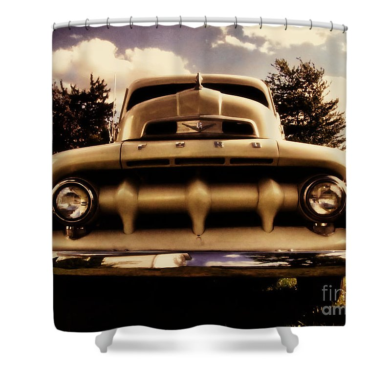 Classic Shower Curtain featuring the photograph The Rizzo Effect Three by September Stone