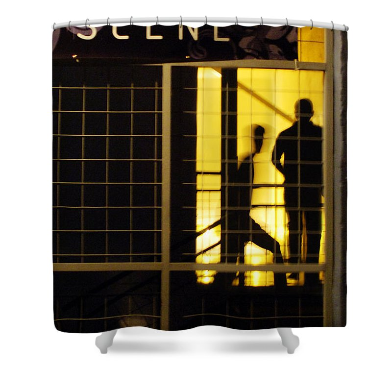 San Antonio Shower Curtain featuring the photograph The Scene San Antonio by Jill Reger