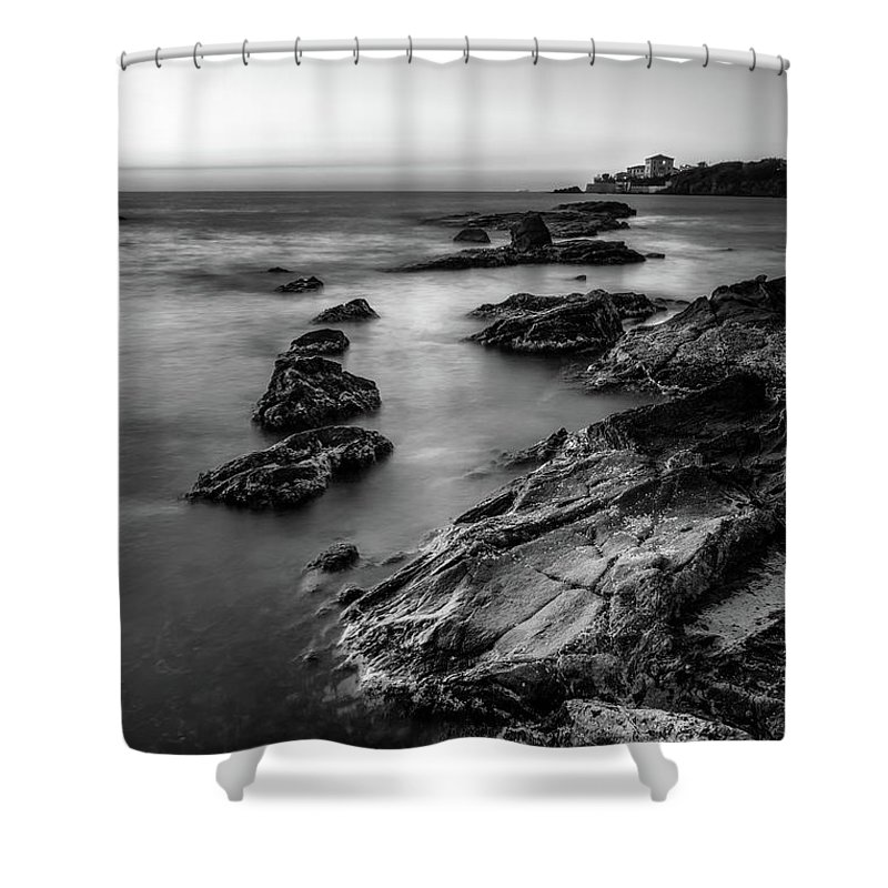 Landscape Shower Curtain featuring the photograph The Sea Serpent by Matteo Viviani