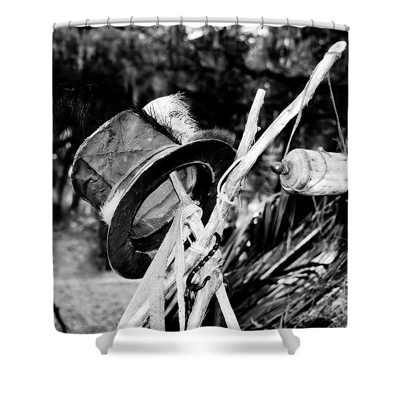 Shaman Shower Curtain featuring the photograph The Shaman's Hat by David Lee Thompson