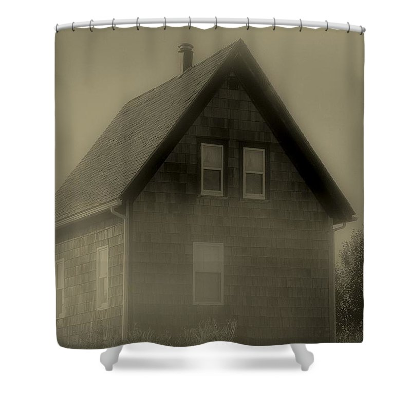 Landscape Shower Curtain featuring the photograph The Shroud by RC DeWinter