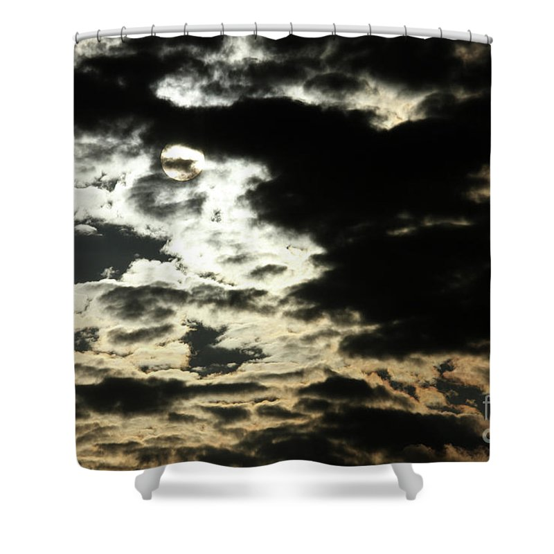 Sky Shower Curtain featuring the photograph The Sky Speaks by Karol Livote
