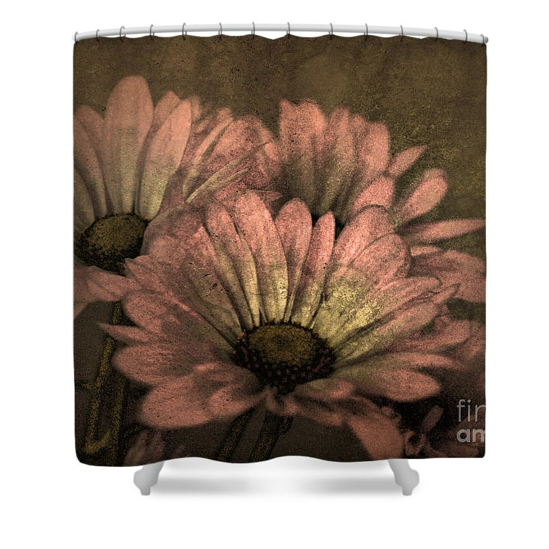 Texture Shower Curtain featuring the photograph The Soft Glow Of Spring by Tara Turner