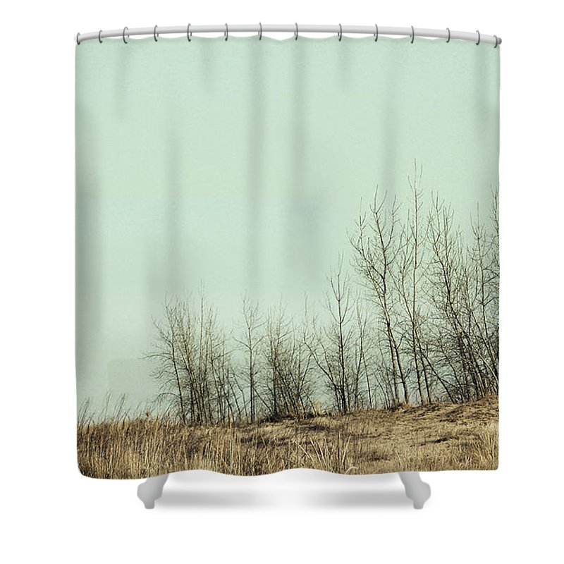 Trees Shower Curtain featuring the photograph The Things We Should Have Done To End Up Somewhere Else by Dana DiPasquale