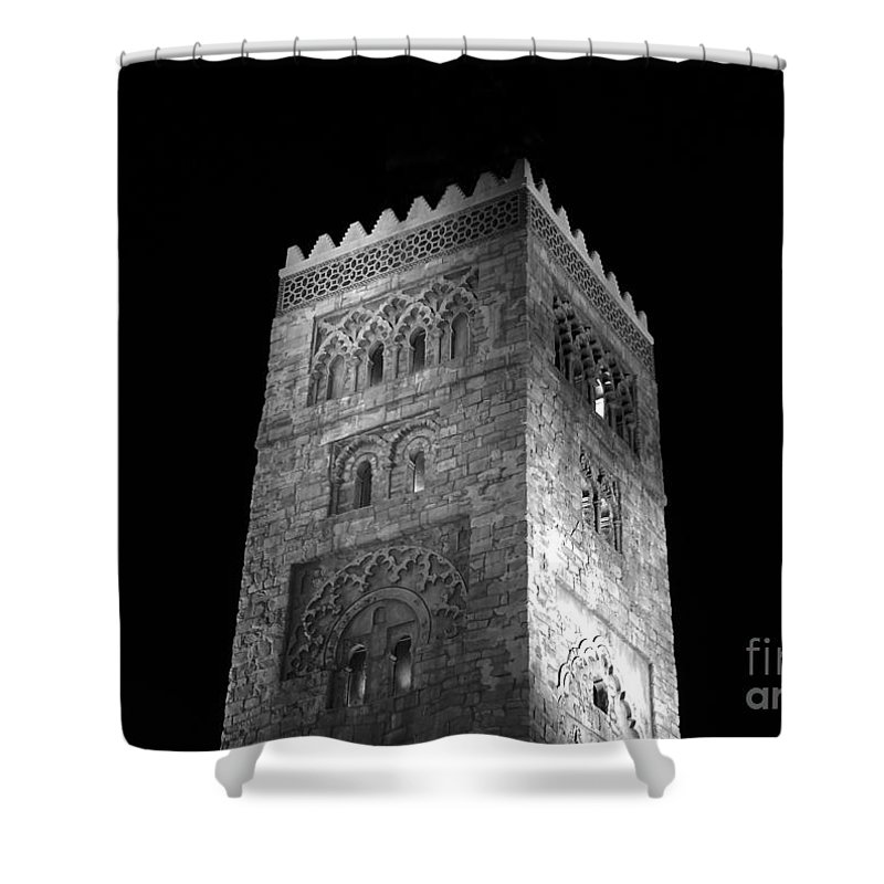 Tower Shower Curtain featuring the photograph The Tower by David Lee Thompson