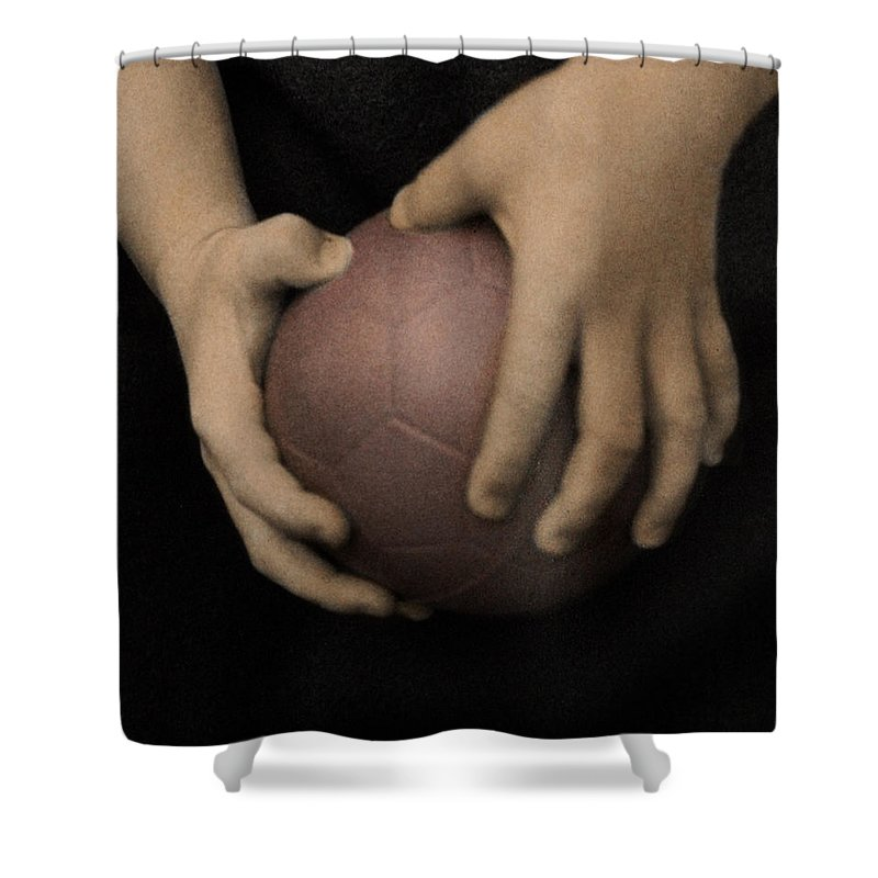 The Twelve Gifts Of Birth Shower Curtain featuring the photograph The Twelve Gifts Of Birth - Strength 2 by Jill Reger