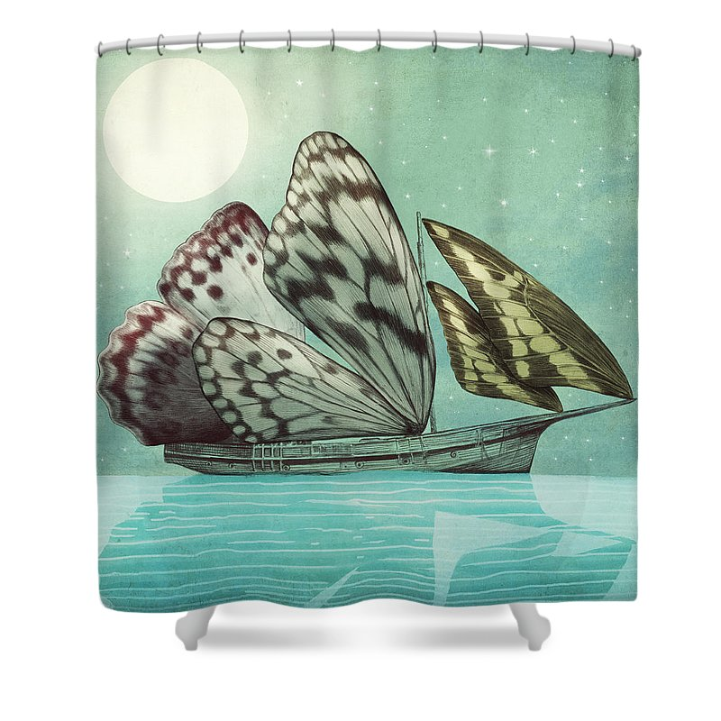 Ships Shower Curtains