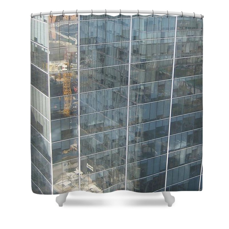 Nature Shower Curtain featuring the drawing The Whole World Inside This Glass by Robert Margetts