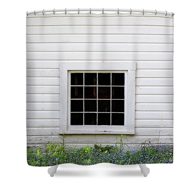 Window Shower Curtain featuring the photograph The Window by Audrey Makar