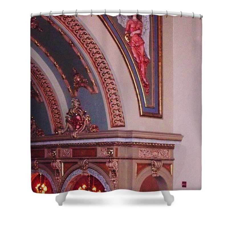 Theater Shower Curtain featuring the photograph Theater by Eric Schiabor