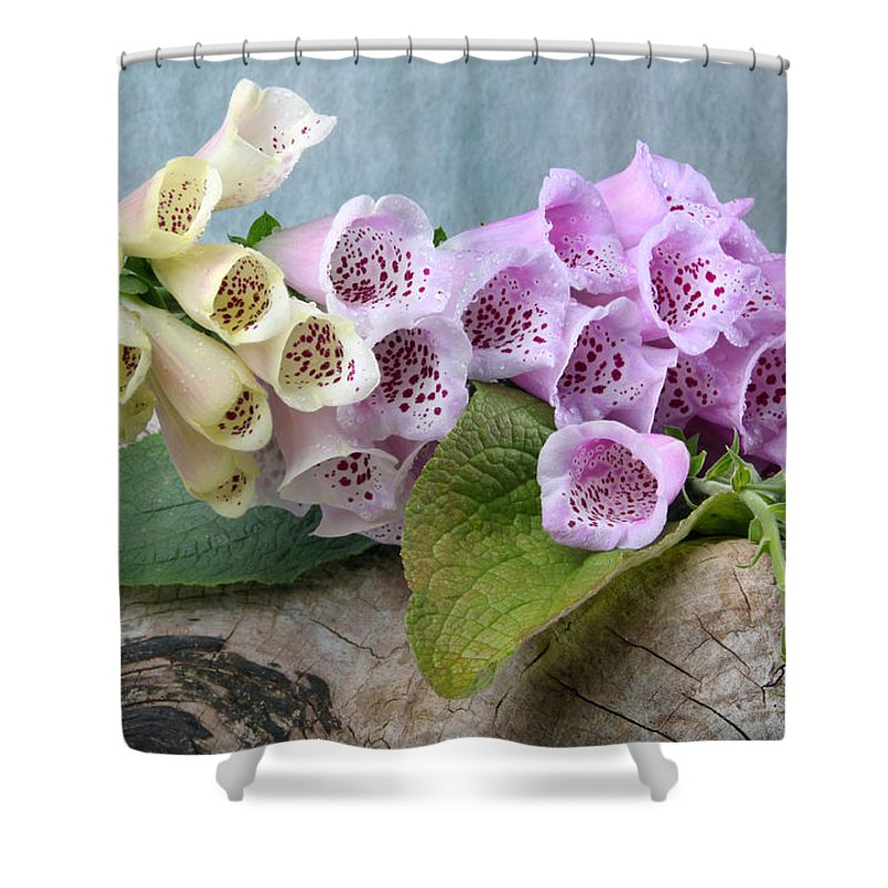 Thimble Shower Curtain featuring the photograph Thimble by Manfred Lutzius