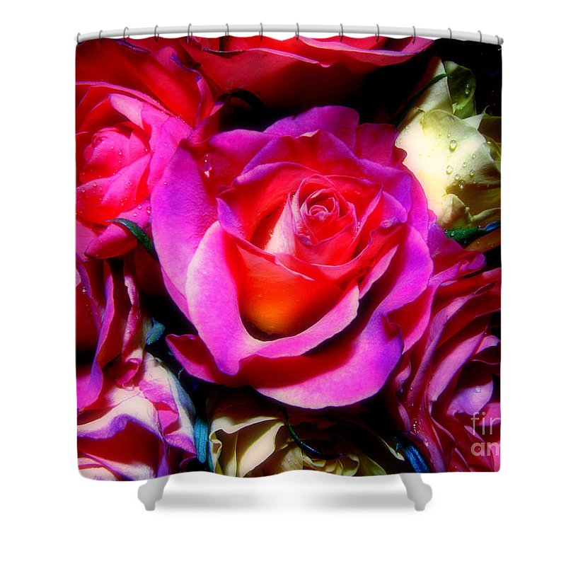 Rose Shower Curtain featuring the photograph Thirty Six 4 by September Stone