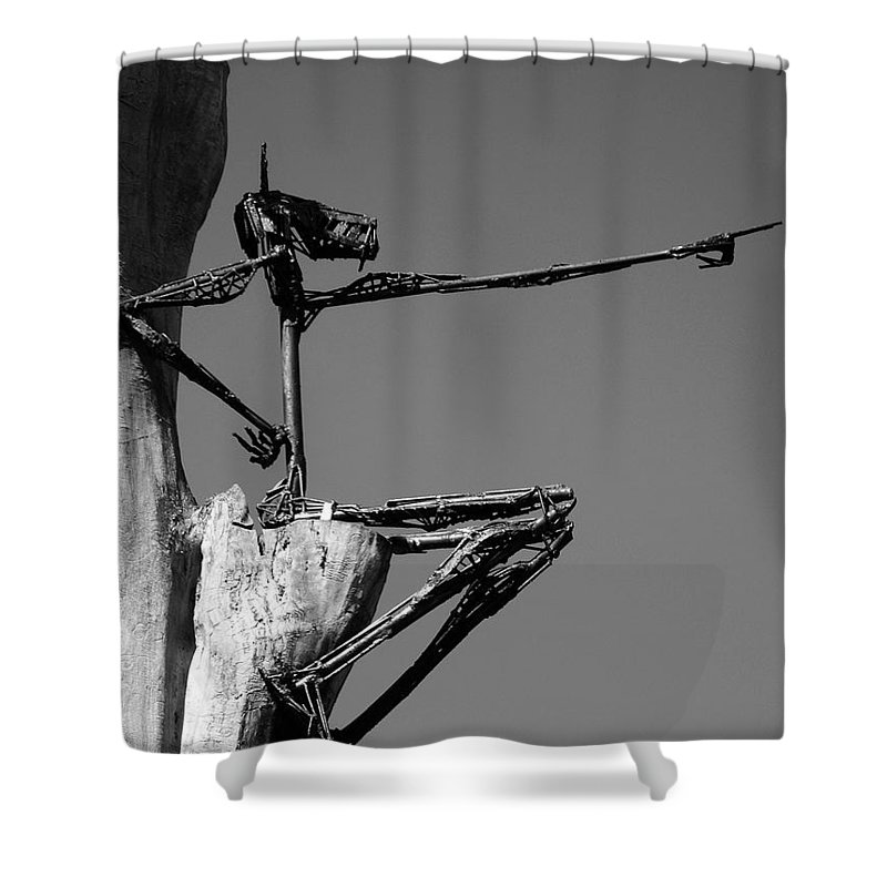 North America Shower Curtain featuring the photograph This Way ... by Juergen Weiss