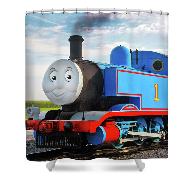 Thomas The Train Shower Curtains
