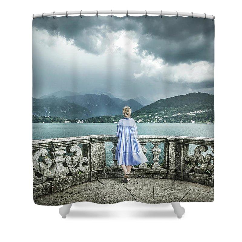 Kremsdorf Shower Curtain featuring the photograph Thunder Symphony by Evelina Kremsdorf