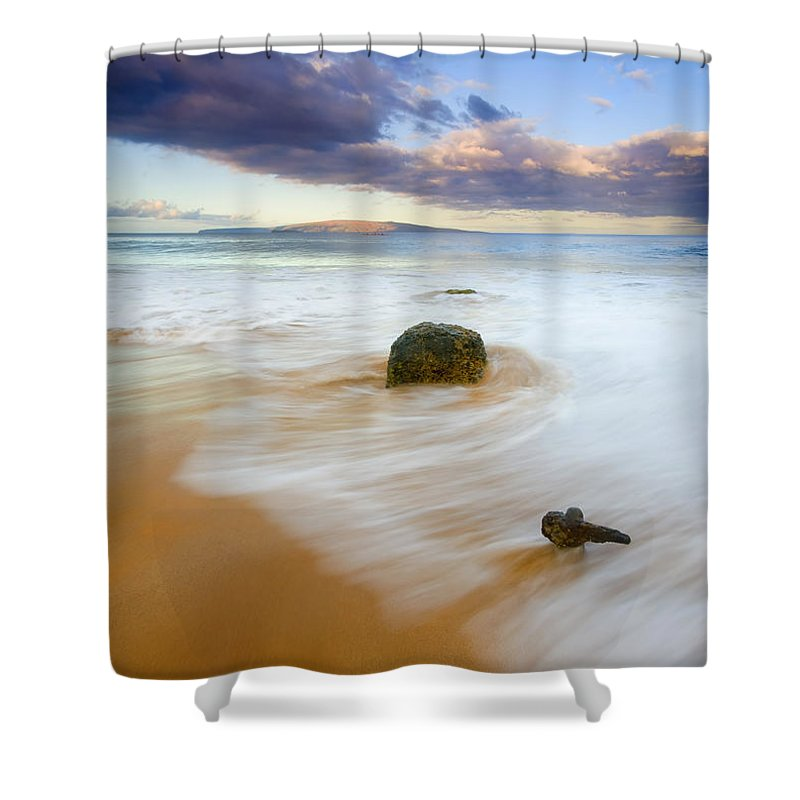 Maui Shower Curtain featuring the photograph Tied To The Past by Mike Dawson