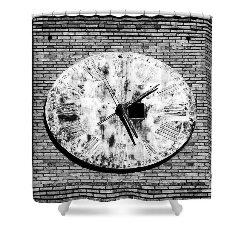 Time Shower Curtain featuring the photograph Time by David Lee Thompson