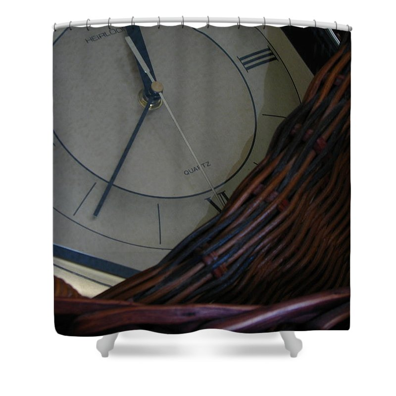 Patzer Shower Curtain featuring the photograph Time Standing Still by Greg Patzer