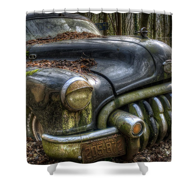 Classic Shower Curtain featuring the digital art Time To Chill Out by Nathan Wright