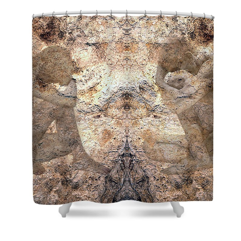 Nudes Shower Curtain featuring the photograph Timeless by Kurt Van Wagner