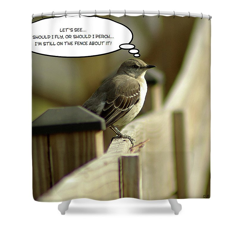 2d Shower Curtain featuring the photograph To Fly Or Not To Fly by Brian Wallace