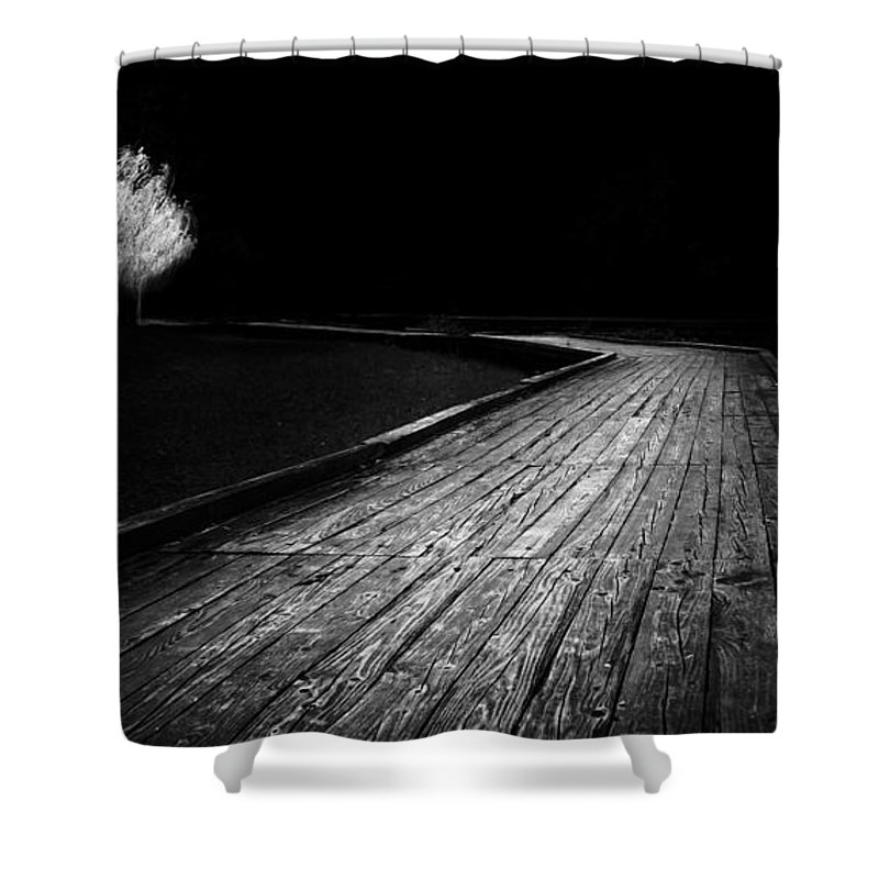 Art Shower Curtain featuring the photograph Destiny  by Ahmed Shanab