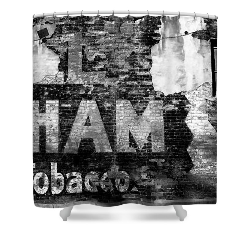 Tobacco Shower Curtain featuring the photograph Tobacco Days by David Lee Thompson