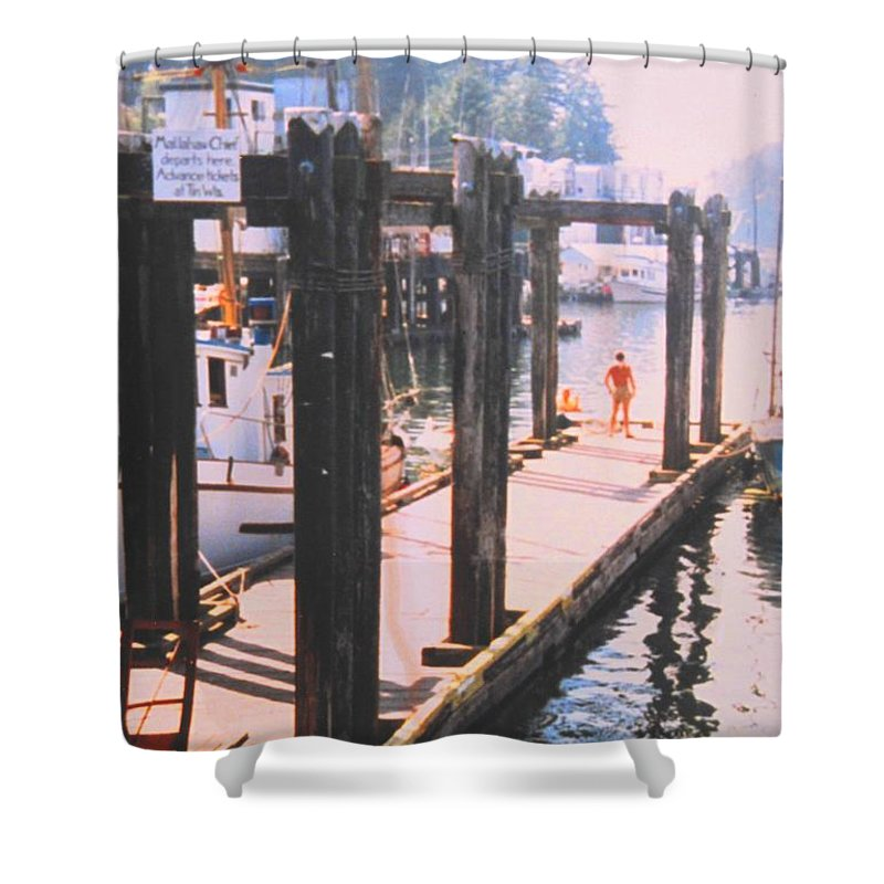Tofino Shower Curtain featuring the photograph Tofino by Ian MacDonald