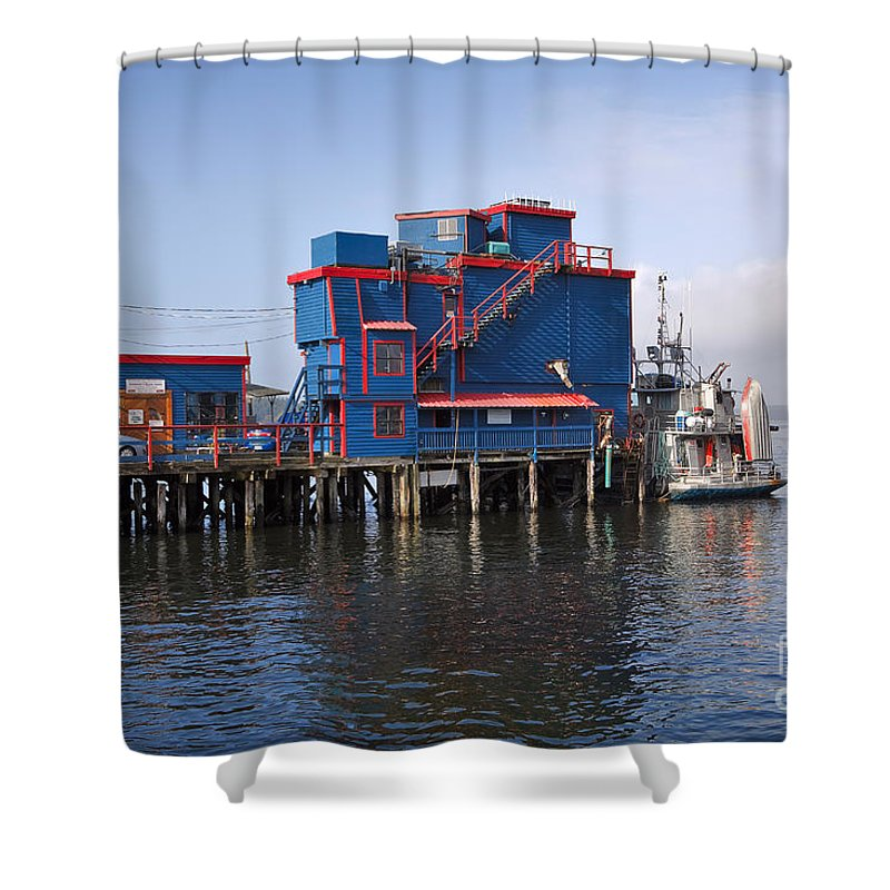 Travel Shower Curtain featuring the photograph Tofino On The West Coast Of Vancouver Island by Louise Heusinkveld