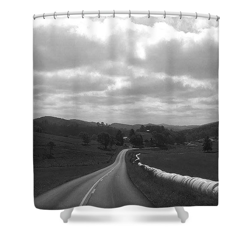 West Virginia Shower Curtain featuring the photograph Together We Go by Chuck Piel