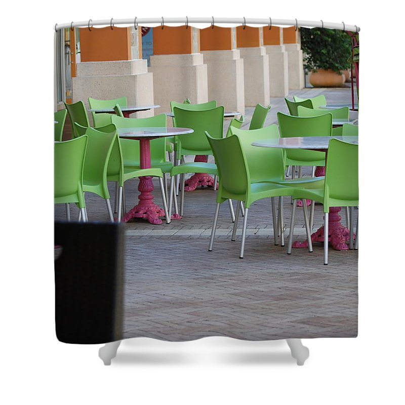 Chairs Shower Curtain featuring the photograph Token Chair by Rob Hans