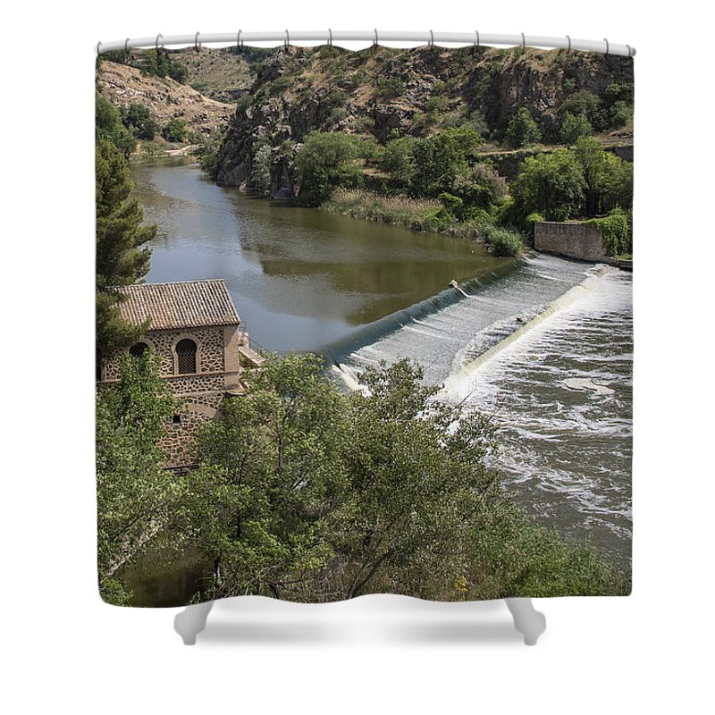 Toledo Shower Curtain featuring the photograph Toledo Spain by Jon Berghoff