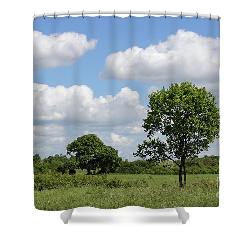 Tolworth Court Nature Reserve In Surrey Shower Curtain featuring the photograph Tolworth Court Nature Reserve In Surrey by Julia Gavin