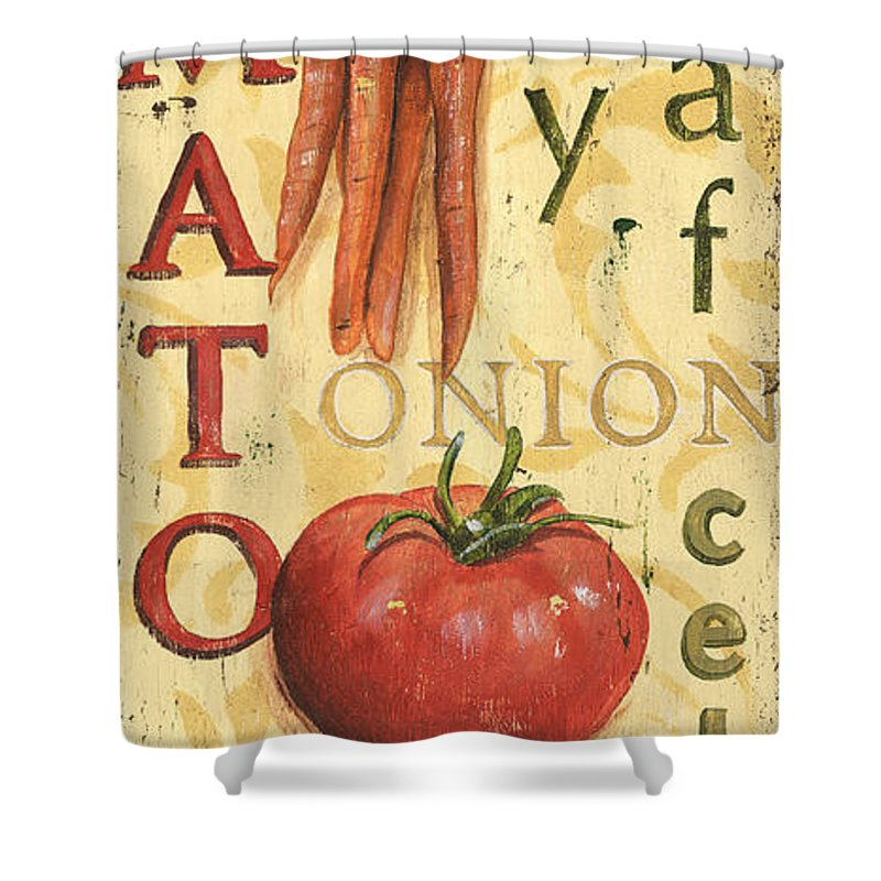 Tomato Shower Curtains