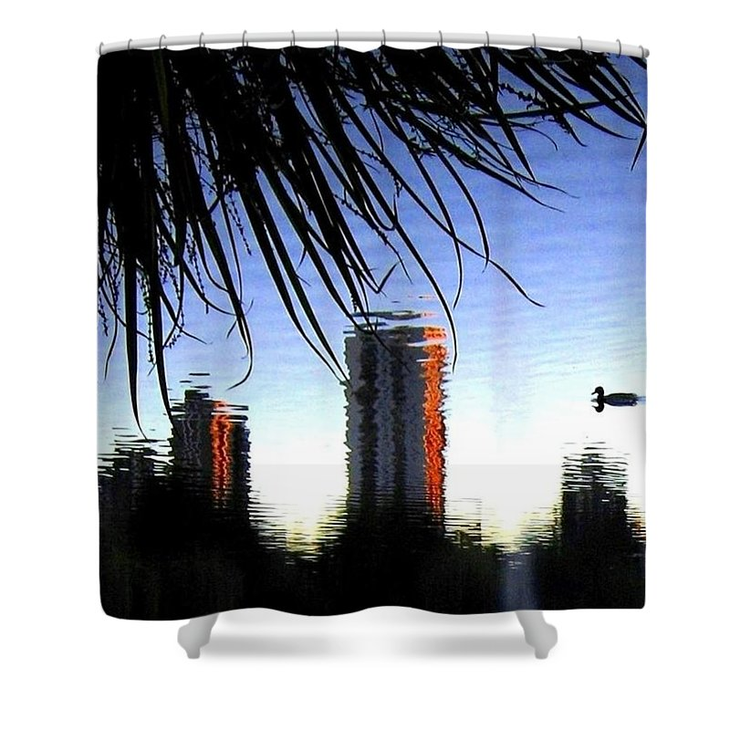 Sunset Shower Curtain featuring the photograph Topsy-turvy by Will Borden