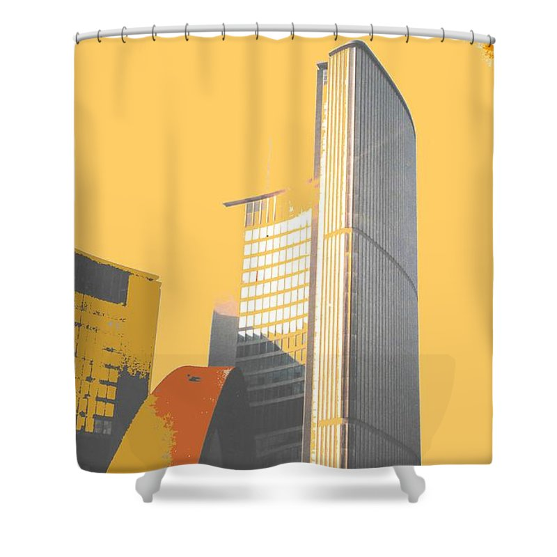 Toronto Shower Curtain featuring the photograph Toronto City Hall Arches by Ian MacDonald