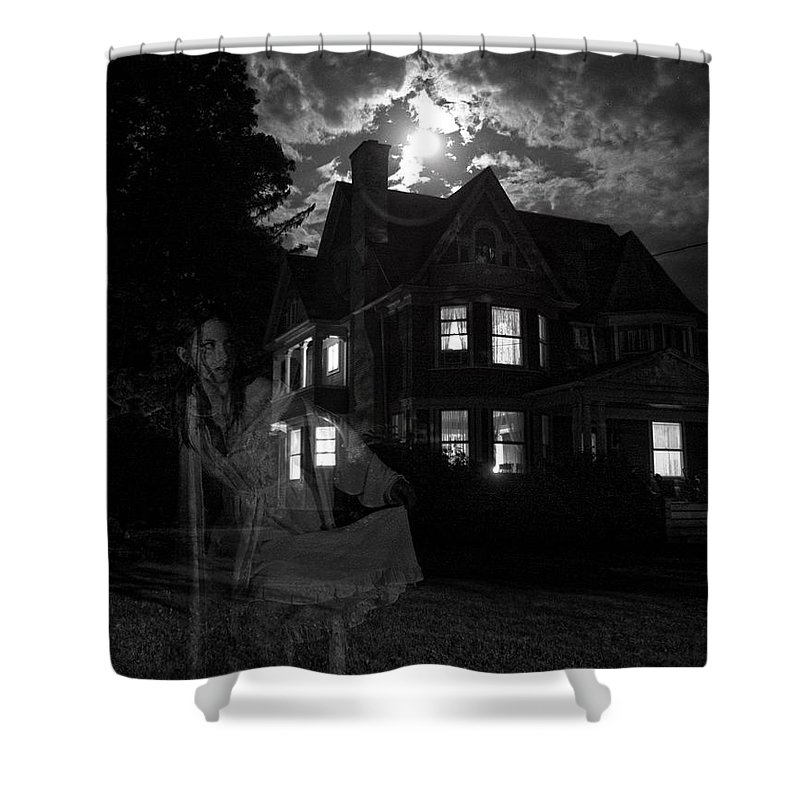 Ghosts Shower Curtain featuring the photograph Tortured Souls by Robert Och