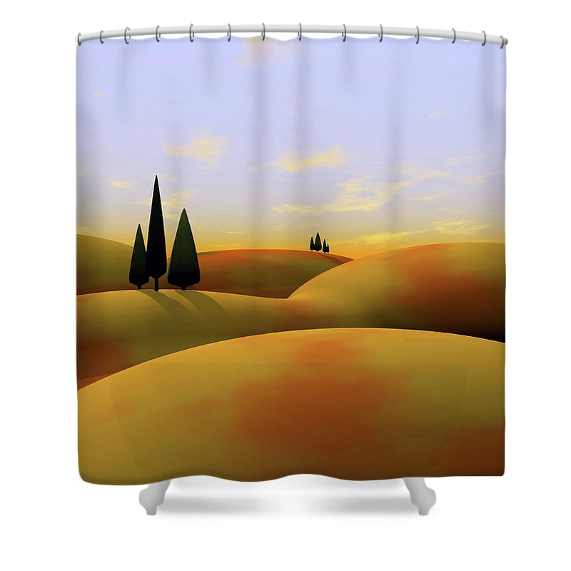 Rusted Shower Curtains