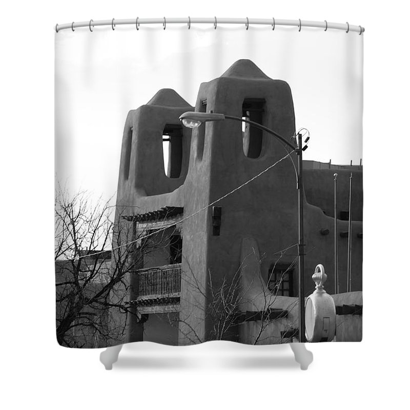 Architecture Shower Curtain featuring the photograph Town Hall by Rob Hans