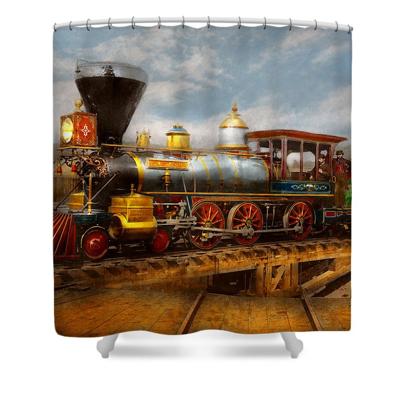 Train - Civil War - Em Stanton 1864 Shower Curtain for Sale by Mike ...