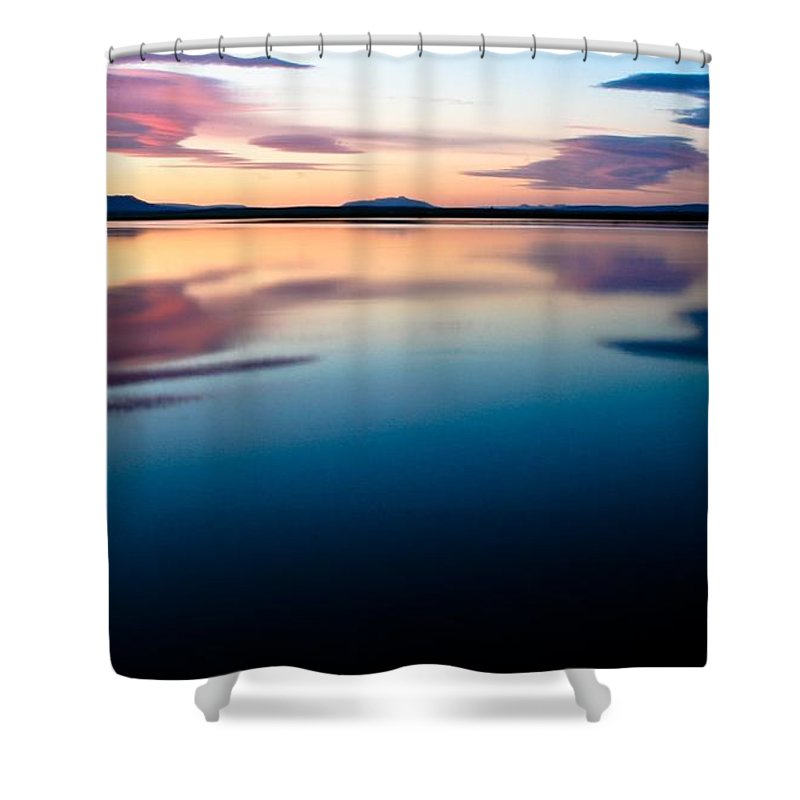 Tranquil Shower Curtain featuring the photograph Tranquil by Agusta Gudrun Olafsdottir